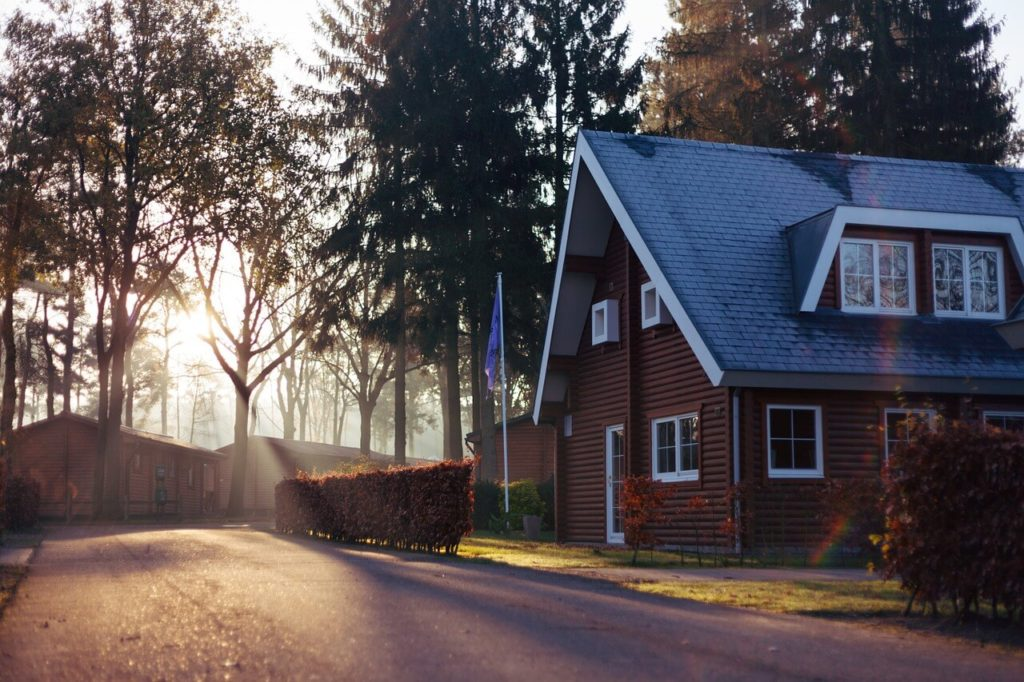 casa con hipoteca